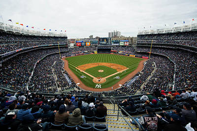 Photograph - Baltimore Orioles V. New York Yankees by Rob Tringali