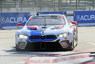 Sports Royalty-Free and Rights-Managed Images - #24 Gtlm Bmw by Shoal Hollingsworth