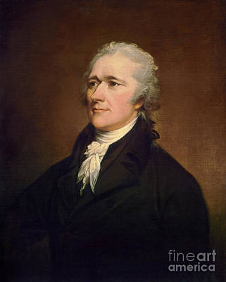 Painting - Alexander Hamilton by Granger
