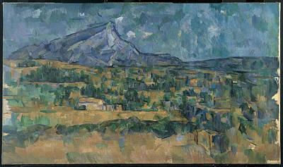 Painting - Mont Sainte-victoire by Paul Cezanne