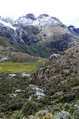 Sports Royalty-Free and Rights-Managed Images - National park HUASCARAN. - Peru by Carlos Mora