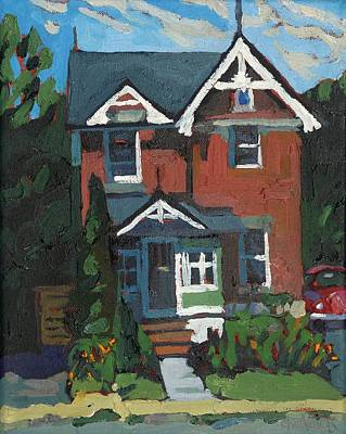 Painting - 254 Nelson Street by Phil Chadwick