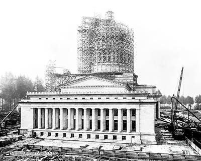 Photograph - Construction Of The Legislative Building by Joe McKnight