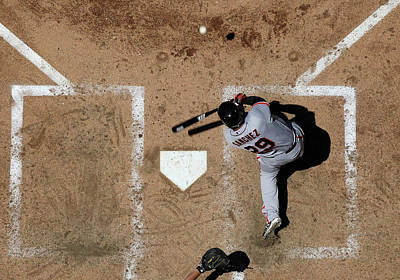 Photograph - San Francisco Giants V Arizona by Christian Petersen
