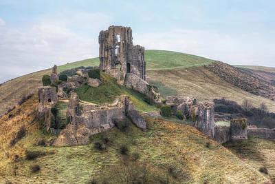Photograph - Corfe Castle - England by Joana Kruse