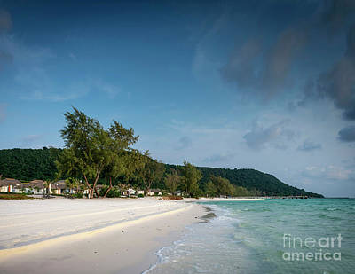 The Who - Long Beach In Tropical Paradise Koh Rong Island Cambodia by JM Travel Photography