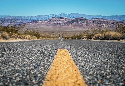 Pop Art Rights Managed Images - Death Valley National Park Scenes In California Royalty-Free Image by Alex Grichenko
