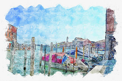 Travel - Venice #watercolor #sketch #venice #italy by TintoDesigns