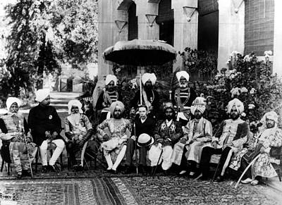 Photograph - 2nd April 1875. India, British Empire by Popperfoto