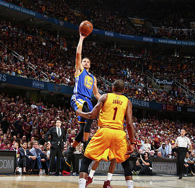 Photograph - 2015 Nba Finals - Game Four by Nathaniel S. Butler