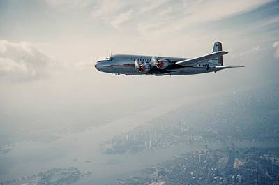 Photograph - American Airlines Douglas Dc-4 by Michael Ochs Archives