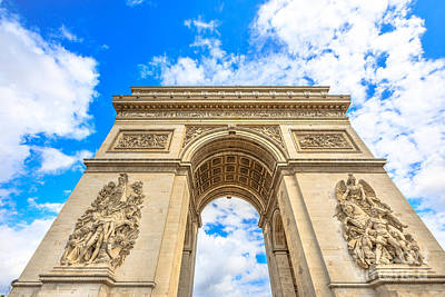 Photograph - Arc De Triomphe by Benny Marty
