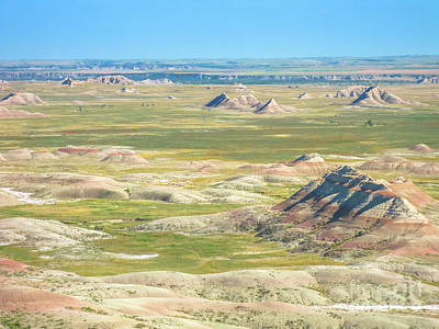 Photograph - Badlands National Park by Benny Marty