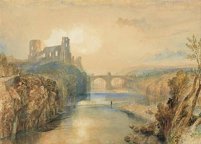Painting - Barnard Castle by Joseph Mallord William Turner