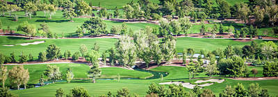 Photograph - Beautiful Aerial Of A Golf Resort In Las Vegas Nevada by Alex Grichenko