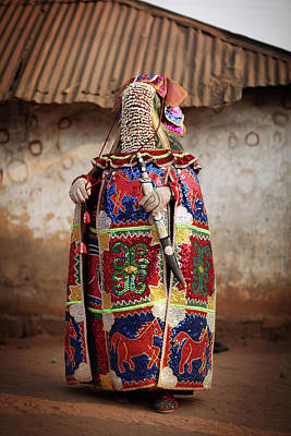 Photograph - Benins Mysterious Voodoo Religion Is by Dan Kitwood