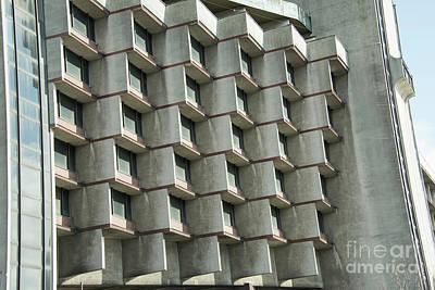 Photograph - Brutalist Architecture by Juli Scalzi