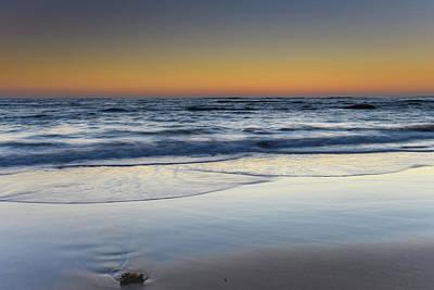 Photograph - Clear Skies Sunrise Seascape by Merrillie Redden