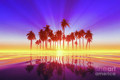 Royalty-Free and Rights-Managed Images - Coconut Palms Island  by Aleksey Tugolukov