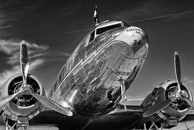 Photograph - Douglas Dc-3  by Chris Buff