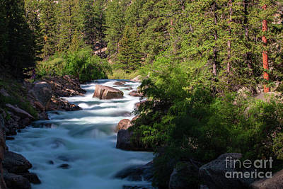 Steven Krull Royalty-Free and Rights-Managed Images - Eleven Mile Canyon by Steven Krull