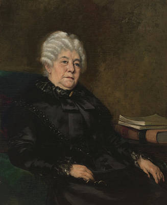 Photograph - Elizabeth Cady Stanton, American by Science Source