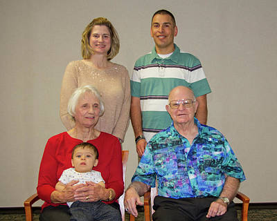 Photograph - Family Portrait  by Larry Linton