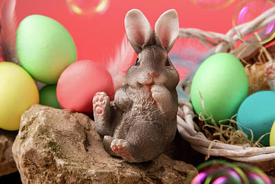 Photograph - Happy Easter by Christine Sponchia