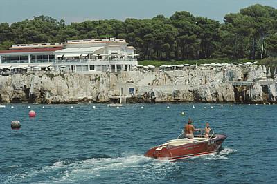 Hotel Photograph - Hotel Du Cap-eden-roc by Slim Aarons