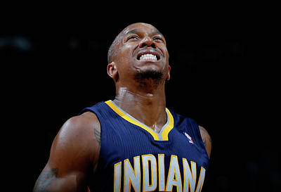 Photograph - Indiana Pacers V Atlanta Hawks by Kevin C. Cox