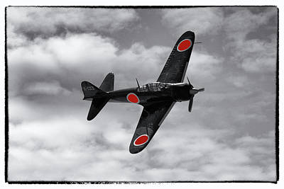 Photograph - Japanese Am6a Zero by Chris Smith