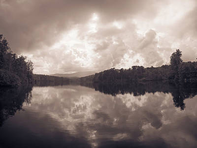 Photograph - Julian Price Lake, Along The Blue Ridge Parkway In North Carolin by Alex Grichenko