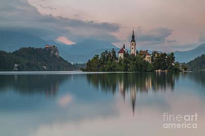 Wall Art - Photograph - Lake Bled..... by Sebastien Coell