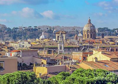 Roaring Red - Landmarks and Ruins in Rome by Jekaterina Sahmanova