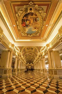 Photograph - Las Vegas Nevada Luxurious Architecture by Alex Grichenko