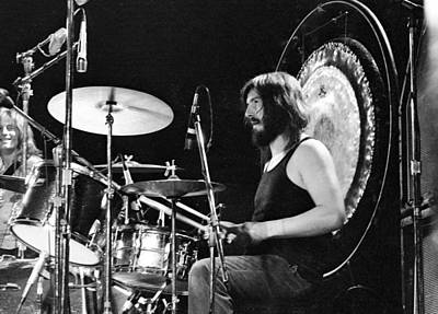 Photograph - Led Zeppelin At The Forum by Michael Ochs Archives