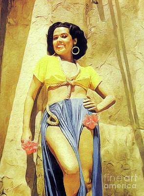 Royalty-Free and Rights-Managed Images - Lena Horne, Singer and Actress by John Springfield