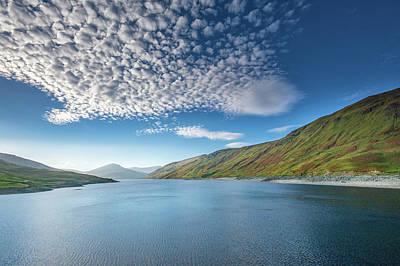 Glen Wall Art - Mixed Media - Loch Lyon by Smart Aviation