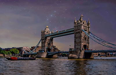 Photograph - London Tower Bridge by Anthony Dezenzio