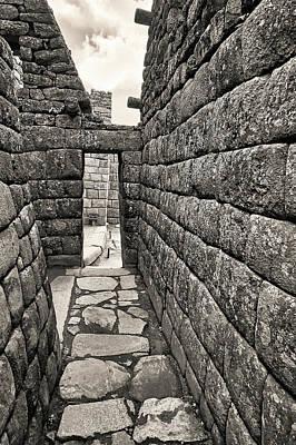 Photograph - Machu Picchu, Cusco, Peru 3 by Jaime Quiroz Tirado