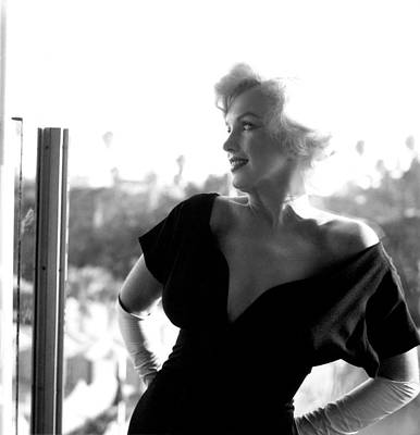 Photograph - Marilyn Monroe At The Beverly Hills by Michael Ochs Archives