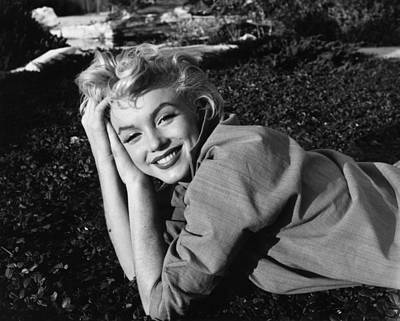 Photograph - Marilyn Monroe by Baron
