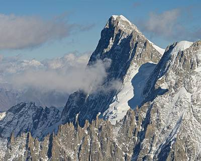 Photograph - Mont Blanc Du Tacul by Stephen Taylor