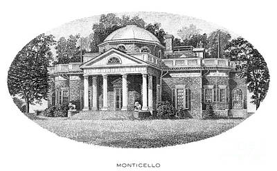 Photograph - Monticello by Granger