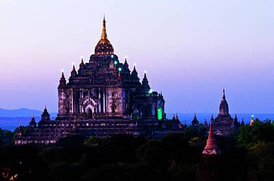 Photograph - Myanmar Burma, Mandalay Division, Bagan by Lemaire Stéphane / Hemis.fr