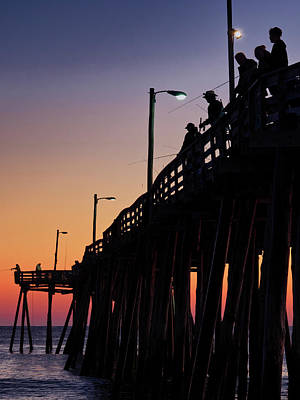 Photograph - Nags Head Fishing Pier by David Kay