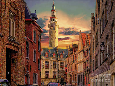 Photograph - 3 Nights In Brugge No 12  by Leigh Kemp