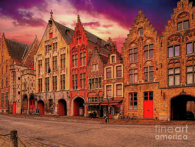 Photograph - 3 Nights In Brugge No 31 by Leigh Kemp