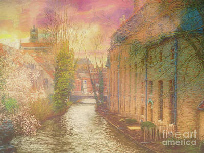 Photograph - 3 Nights In Brugge Series No 32 Play Misty For Me by Leigh Kemp