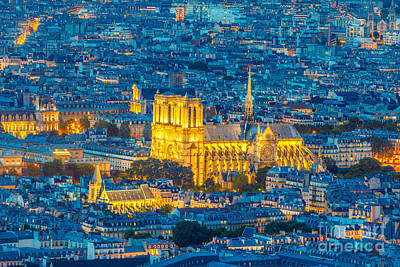 Photograph - Notre Dame De Paris by Benny Marty